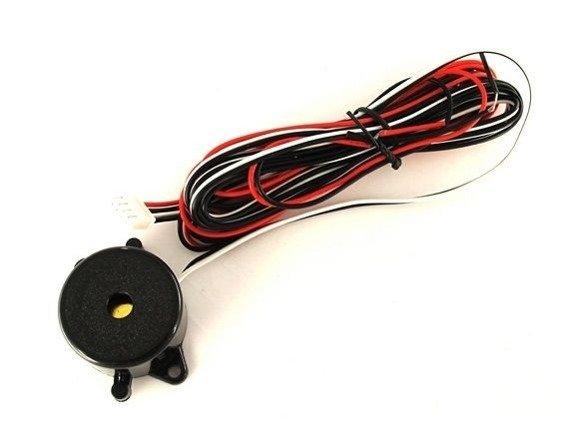 Czujniki cofania parkowania z buzzerem. Przód + tył 8 sensorów. Model CP10S8W