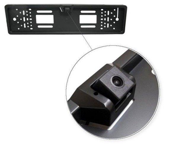 """Kamera cofania wbudowana w ramkę tablicy rejestracyjnej z wyświetlaczem 4.3"""""""