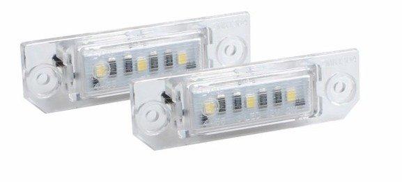 Lampki LED podświetlenia tablicy rejestracyjnej VOLSKWAGEN Golf IV V VI VII Passat B6 B7 Passat CC