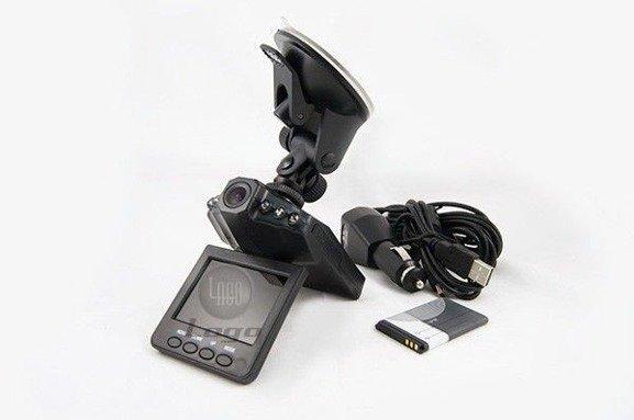 Rejestrator trasy przejazdu DVR, Kamera samochodowa, PL MENU
