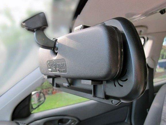 Wyświetlacz LCD 7 cali wbudowany w lusterko wsteczne do kamery cofania, dvd